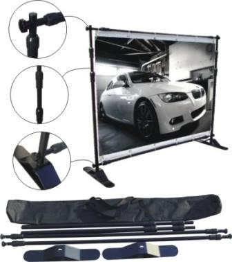 telescopic backdrop banner stand las vegas henderson nv company cheap